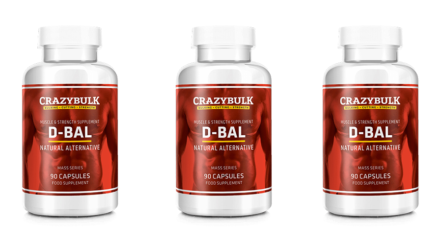 D-Bal review 3 Bottles of crazy bulk top legal steroid alternative for muscle gain