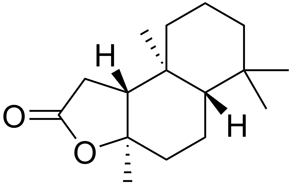 Sclareolide_structure