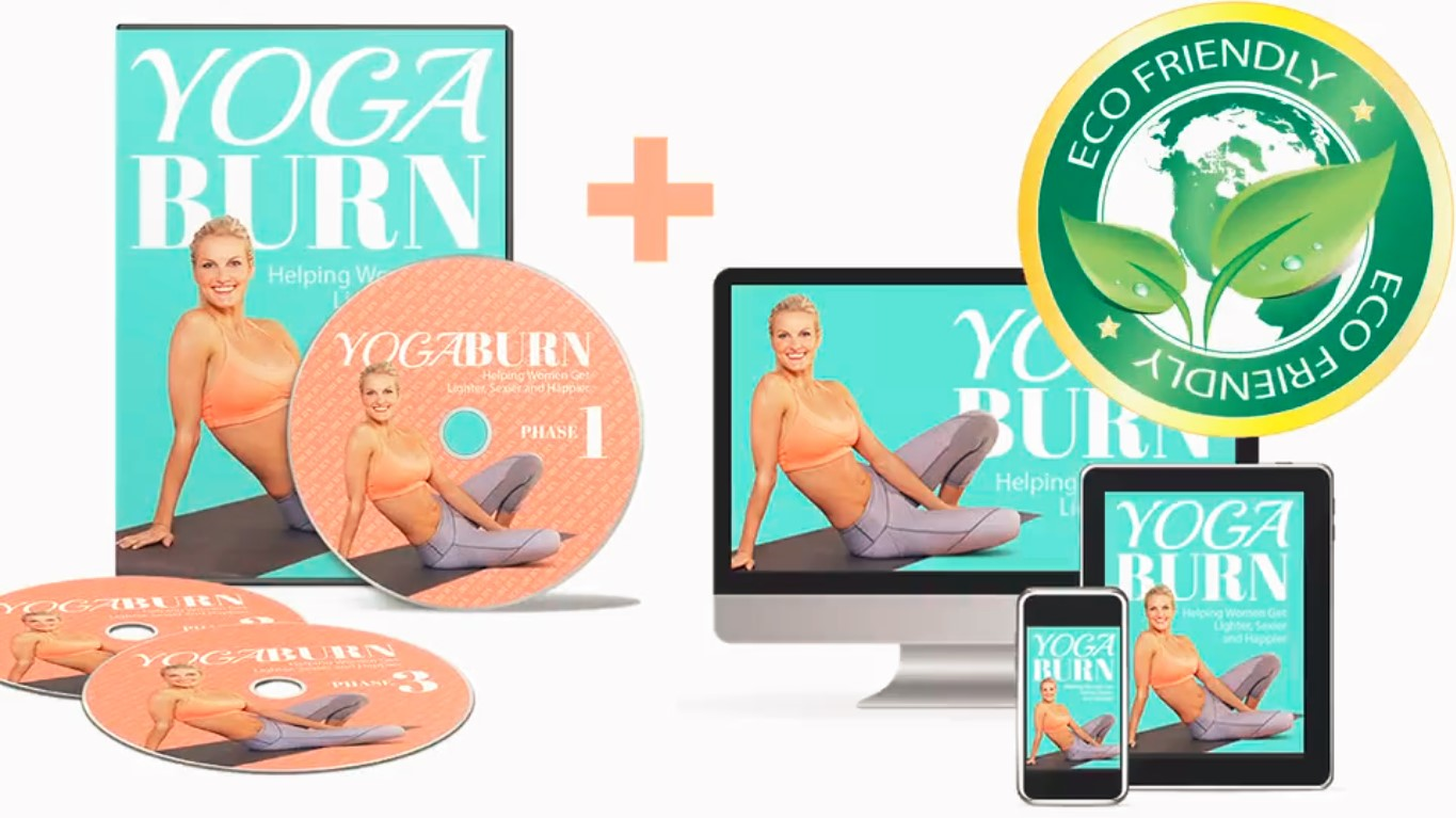 yoga burn dvds on tablets and computers