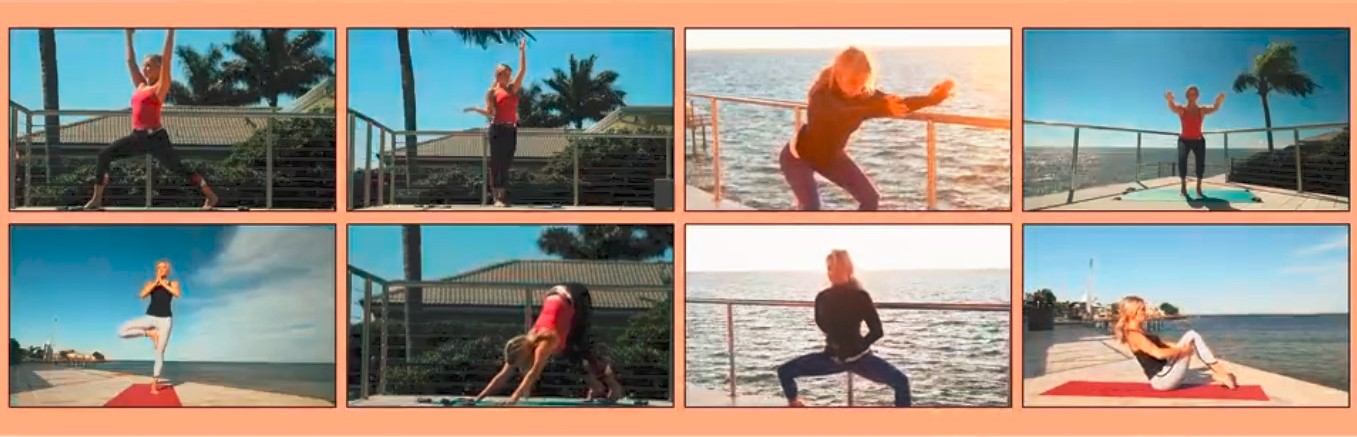 yoga burn library of phases with videos