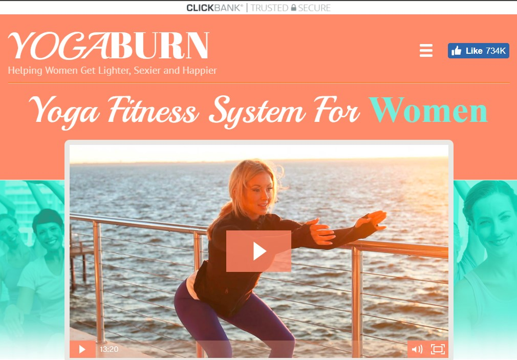 yoga burn new official website