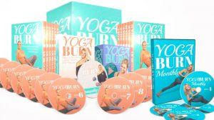 yoga burn program entire collection of DVDs, manual and yoga burn monthly with bonuses