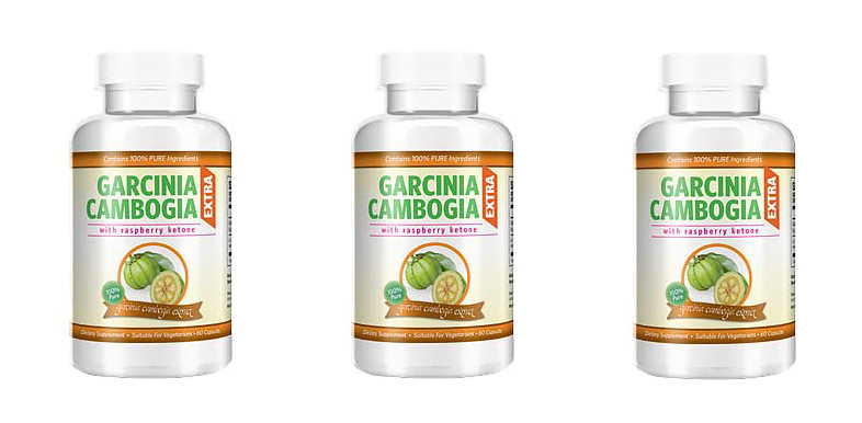 3 bottles of garcinia cambogia extra with Raspberry ketone