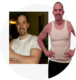 SHANE P before and after testimonial