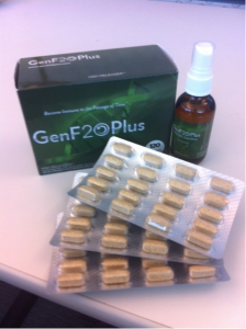 genf20 capsules and spray