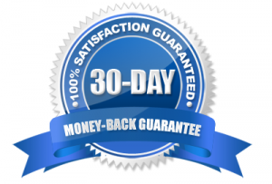 money back guarantee 30 days