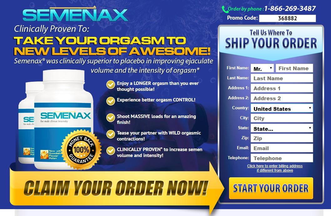semenax new official website