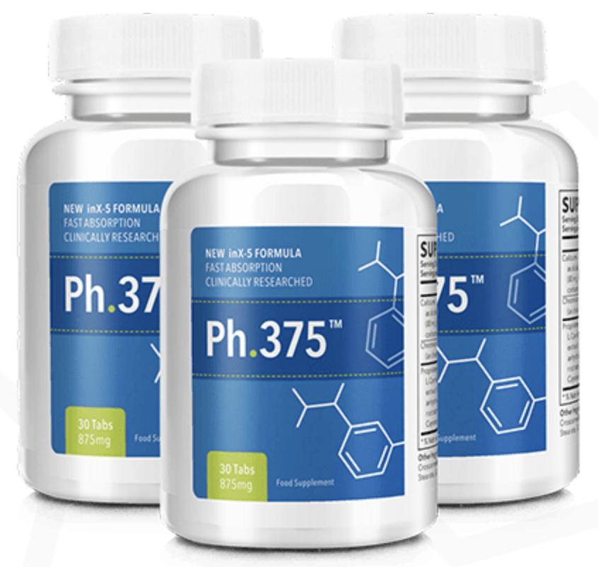 3 bottles of ph.375