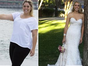 Amy lost 20 lbs in 2 months