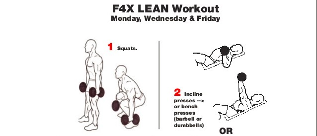 f4x lean workout