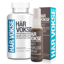 har vokse hair spray & supplement