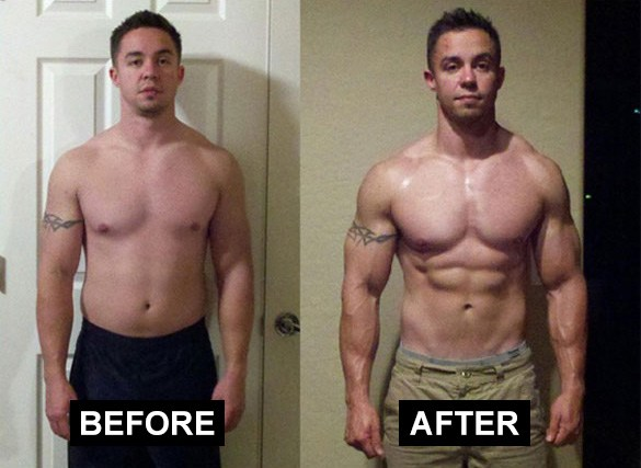 hgh before and after results
