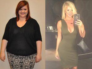 lauren lost 45 lbs in 5 months