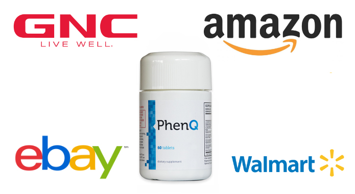 phenQ at gnc amazon ebay walmart banner