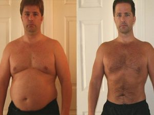 Richard lost 24 lbs in 3 months