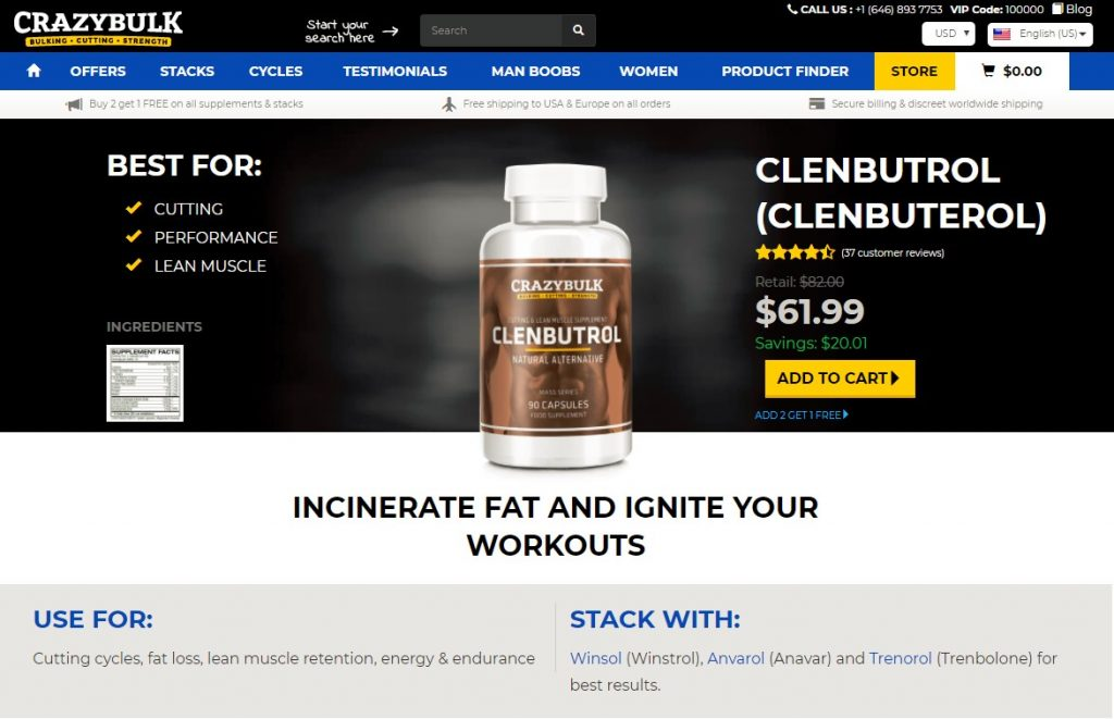 clenbutrol official website