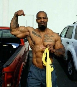 CT Fletcher arm pose