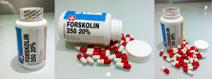 Forskolin unboxing photos capsules