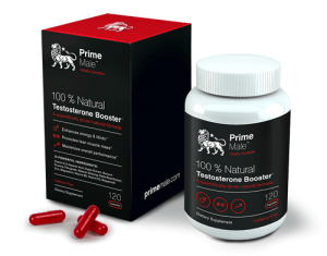 Prime Male natural testosterone booster for men
