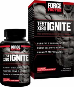 Test X 180 Ignite (best testosterone booster for muscle gain and fat burn)