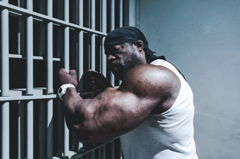 kali muscle in prison