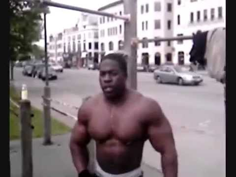 kali muscle before in his young age