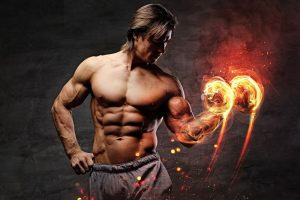 cutting muscles fine body