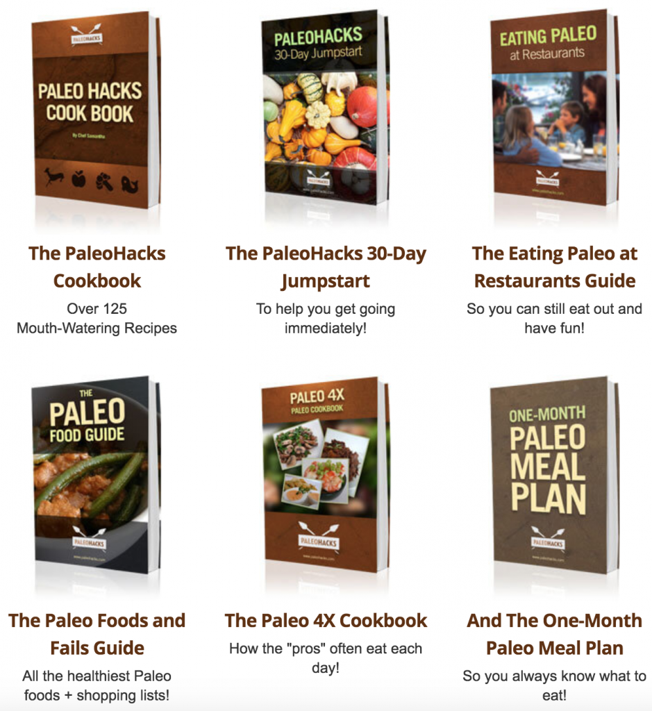 6 paleohacks cookbook recipe guides