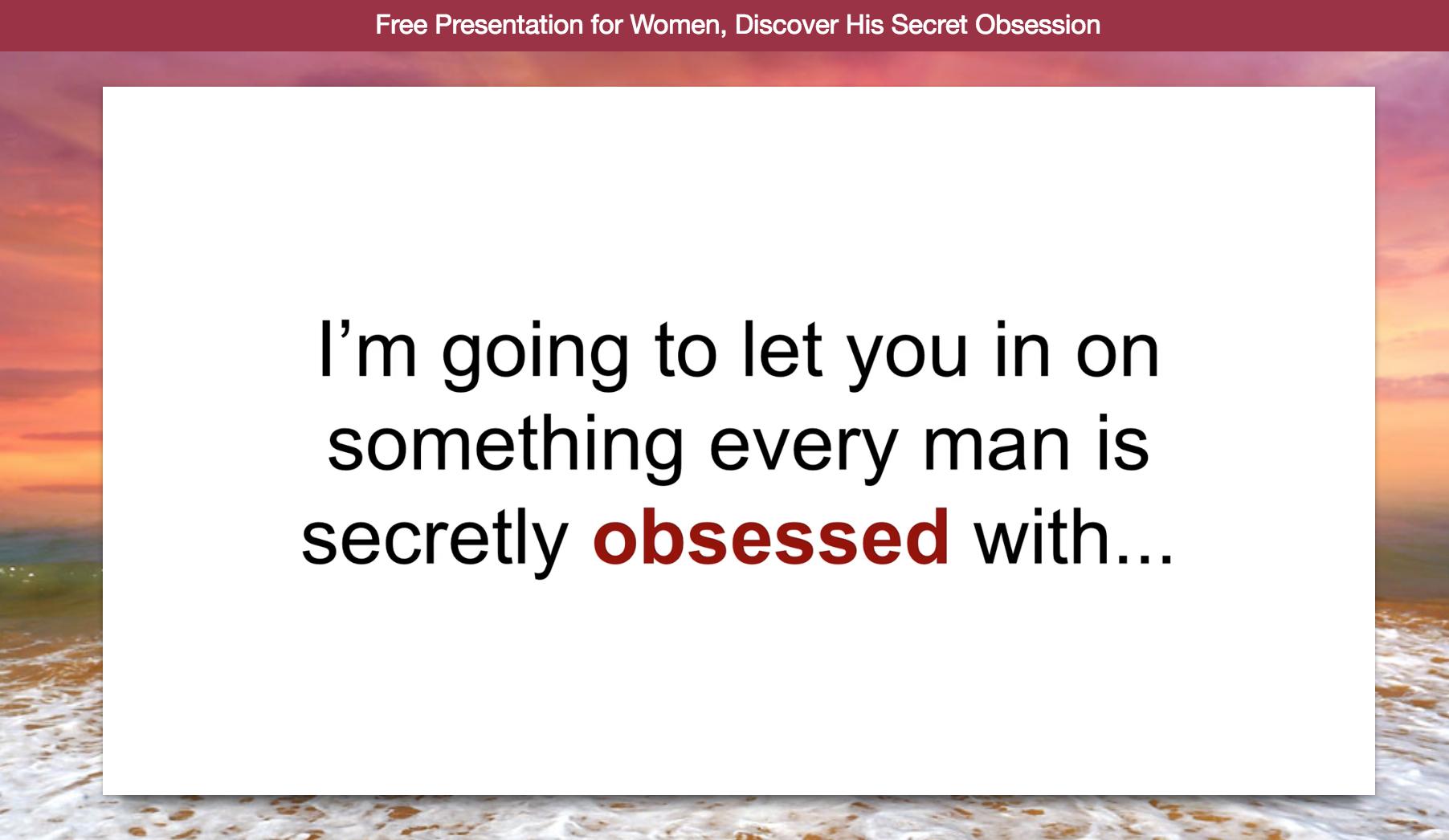 james bauer his secret obsession review  ebook pdf